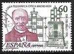Sellos de Europa - España -  Dia del sello - 150º aniversario de la linea telegráfica óptica Madrid - Irun