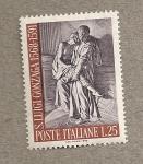 Stamps Italy -  San Luis Gonzaga