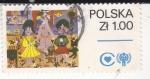 Sellos de Europa - Polonia -  DIBUJO INFANTIL