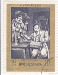 Sellos de Europa - Polonia -  S. MONIUSZKO