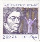 Stamps Poland -  TEATRO NARODOWY-A.MICKIEWICZ