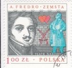 Sellos del Mundo : Europa : Polonia : TEATRO NARODOWY- A.FREDO