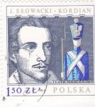 Stamps : Europe : Poland :  TEATRO NARODOWY-J.SLOWACKI