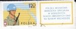 Stamps : Europe : Poland :  FUERZAS MILITARES DE LAS NACIONES UNIDAS EN MEDIO ORIENTE