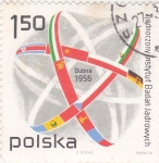 Stamps Poland -  DUBNA 1956