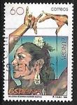 Stamps Spain -  Mujeres célebre -
