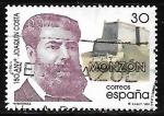 Sellos del Mundo : America : España :  Efemérides - 150 aniv. de Joaquin Costa