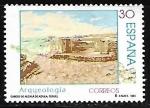 Stamps Spain -  Arqueología - Cabezo de Alcalá de Azaila (Teruel)