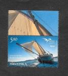 Sellos de Europa - Croacia -  Alianza de Operadores Postales de los Países Mediterráneos (EUROMED)