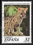 de Europa - España -  Fauna española en peligro de extinción - Gineta
