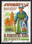 Sellos de Europa - España -  Exposición Nacional de Filatelia Juvenil JUVENIA 97