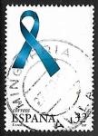sello : Europa : España : Lazo azul