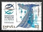 Stamps of the world : Spain :  Exposición Mundial de la Pesca - Vigo 97