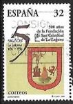 Sellos de Europa - España -  Centenarios - 500 años de San Cristobal de la Laguna