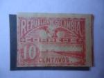 Stamps : America : Colombia :  Muelle de Hierro de Sabanilla - (Muelle de Puerto Colombia)