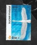 Sellos del Mundo : Europa : Finlandia : 1559 - Una cigueña