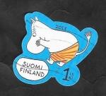 Sellos del Mundo : Europa : Finlandia : 2209 - Moomin