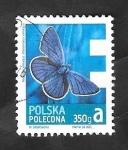 Sellos del Mundo : Europa : Polonia : 4322 - Mariposa