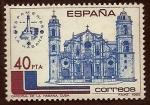 Stamps of the world : Spain :  Catedral de la Habana (CUBA)