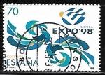 Stamps : Europe : Spain :  Exposición Universal de Lisboa - EXPO
