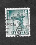 Sellos de Europa - España -  Edf 6 (Valencia) - Casilicio de San Vicente Ferrer