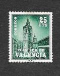 Sellos de Europa - España -  Edf 4 (Valencia) - El Miguelete