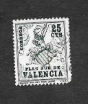 Sellos del Mundo : Europa : España : Escudo del Rey don Jaime I