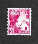 Stamps Spain -  Edf 3 (Valencia) - Barraca Valenciana