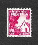 Stamps Spain -  Barraca Valenciana