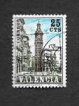 Stamps Spain -  Edf 9 (Valencia) - La Torre de Santa Catalina