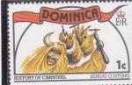 Stamps Dominica -  HISTORIA DEL CARNAVAL