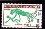 sellos de Africa - Benin -  PINTURA RUPESTRE