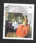 Sellos del Mundo : Europa : Alemania : Jan Vermeer van Delft, La chica de la copa de vino