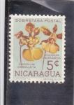 sellos de America - Nicaragua -  FLORES- CEBOLLETA