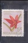 Sellos de America - Nicaragua -  FLORES- HEXISIA BIDENTATA