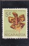 Sellos de America - Nicaragua -  FLORES- CYCNOCHES EGERTONIANUM