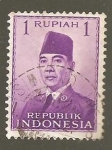 Stamps : Asia : Indonesia :  INTERCAMBIO