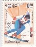 Stamps : Asia : Cambodia :  OLIMPIADA SARAJEVO