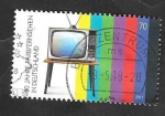 Sellos del Mundo : Europa : Alemania : 50 Anivº de la televisión en color