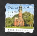 Sellos del Mundo : Europa : Alemania : Faro de Kiel Holtenau