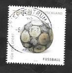 Sellos del Mundo : Europa : Alemania : 3031 - Balón de Fútbol