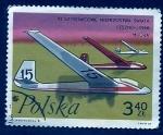 Stamps Poland -  Avion