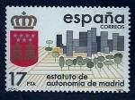 sellos de Europa - España -  Estatuto de autonomia de Madrid