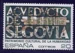 Stamps Spain -  Acueducto de Segovia