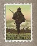 Sellos de Europa - Italia -  Resistencia en el Piave