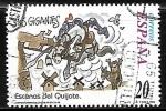 de Europa - España -  Escenas del Quijote -
