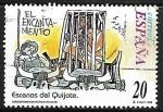 de Europa - España -  Escenas del Quijote - El encantamiento