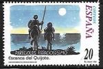Stamps : Europe : Spain :  Escenas del Quijote -