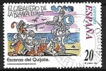 Sellos de Europa - España -  Escenas del Quijote -