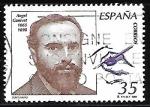 Stamps Spain -  Centenarios - Ángel Canivet